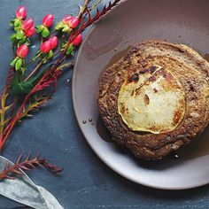 SPICED PUMPKIN & APPLE BUCKWHEAT PANCAKES (gluten-free)