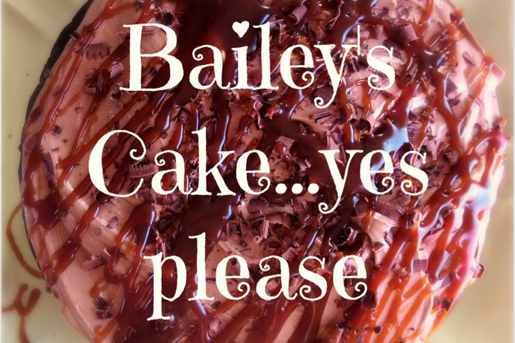 Bailey's Chocolate Cake with Stout Caramel and Milk Chocolate Ganache