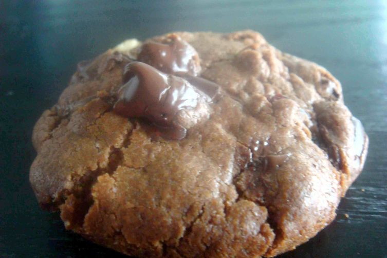 Chocolate Cherry Black Pepper Cookies