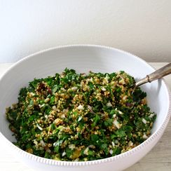 Dried Plum + Millet Tabbouleh