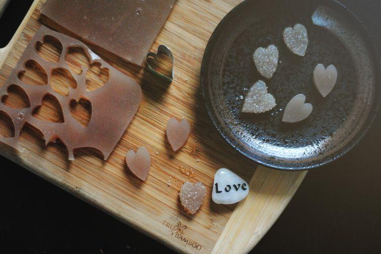 Lychee Jelly Hearts