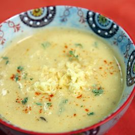 Smoked Cauliflower Soup