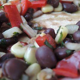 Black Bean & Corn Salad with Balsamic Vinegar Reduction