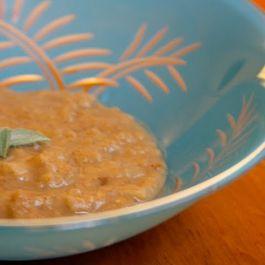 Apple and Red Lentil Puree