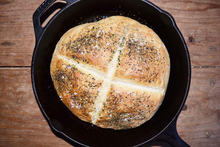 Skillet Bread with Za'atar