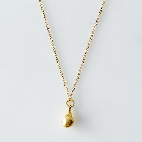 Miniature Pear Drop Necklace