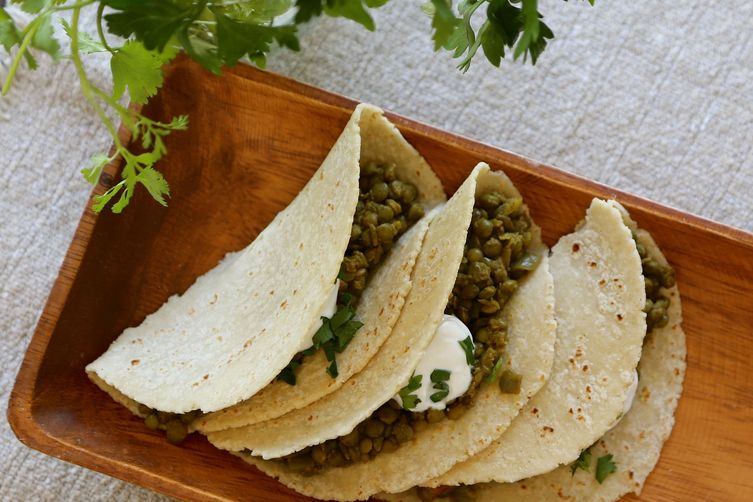 Curried Lentil Tortilla