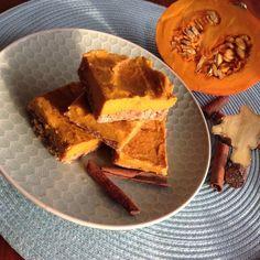 Pumpkin Pie Spice Squares