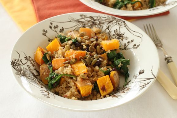 Quinoa with Butternut Squash