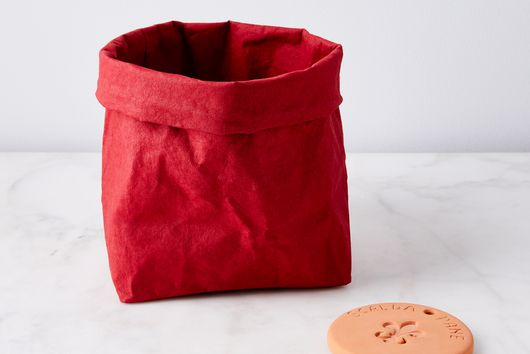 Bread Bag & Terra-cotta Bread Warmer