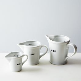Ceramic Measuring Cups (Set of 3)
