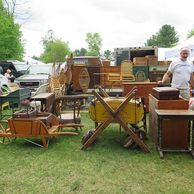 Brimfield 101 for Antiques Lovers, Vintage Buffs, and Talented Hagglers