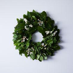 Spring Greens Wreath