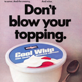 Is Cool Whip Food?: Looking Back on 50 Years