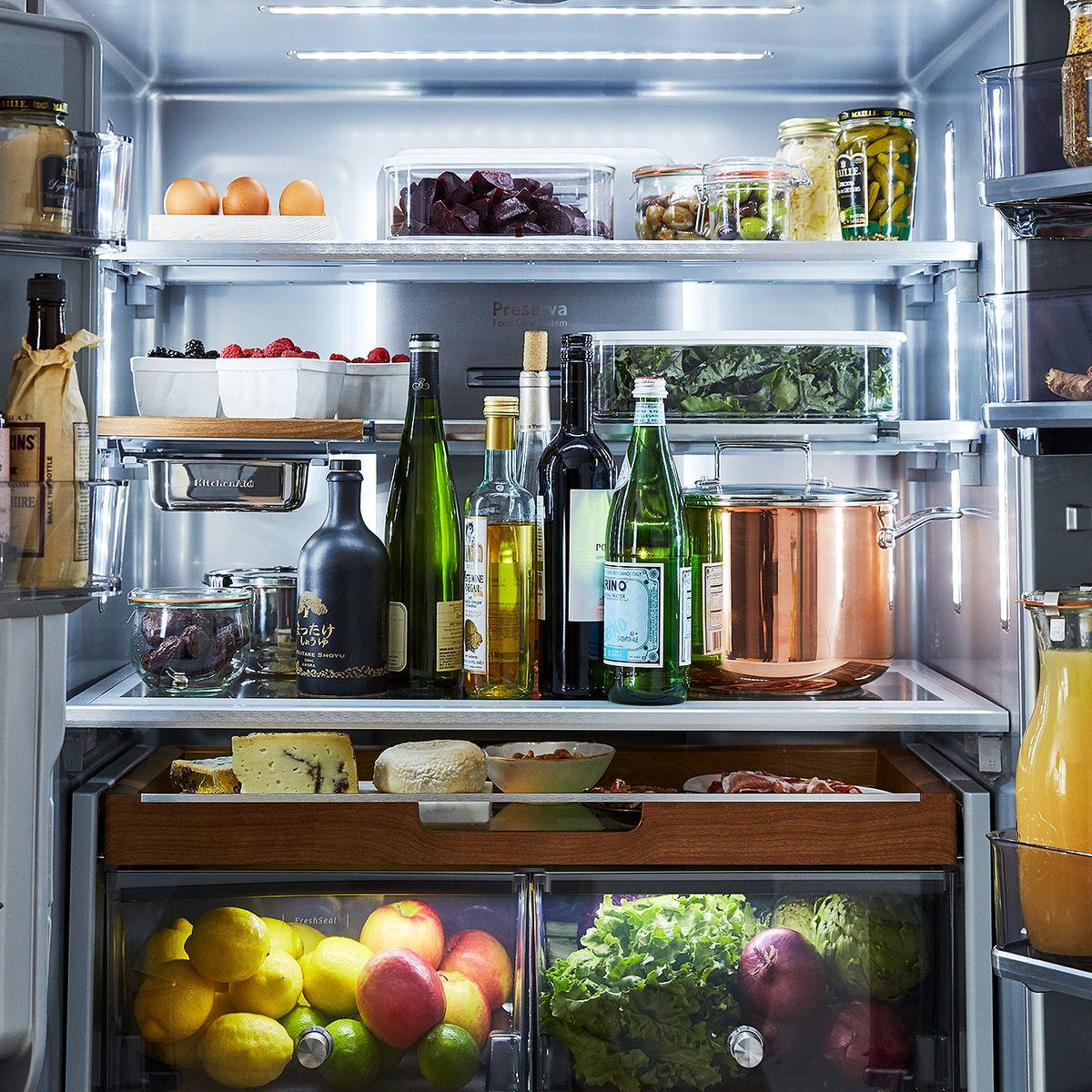 9 Best Refrigerator Organization Storage Ideas For A