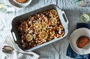 Joy the Baker's Olive Oil-Braised Chickpeas (More or Less)