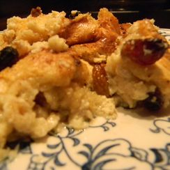 Candy Cap Bread Pudding