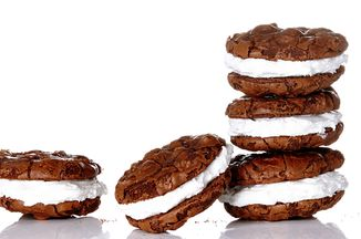 Mexican Chocolate Cookies with Marshmallow Frostin Recipe on Food52