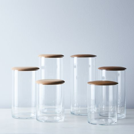 Glass Simple Storage Containers