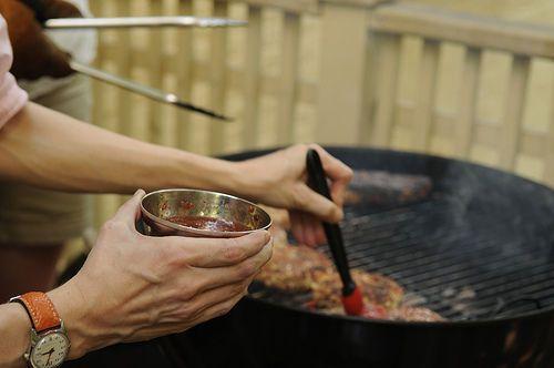 Plum Sauced Pork Tenderloin