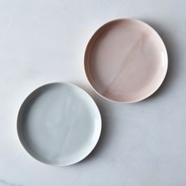 Watercolor Salad & Cake Plates (Set of 4)