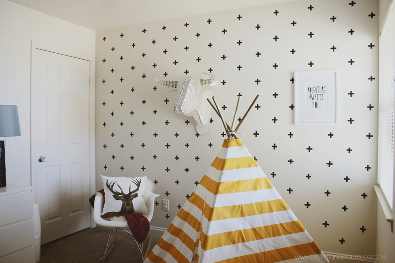 How Washi Tape Can Save Your Blank Walls—Tonight
