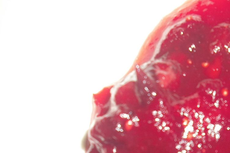 Cranberry Sauce with Blood Orange and Pickled Ginger