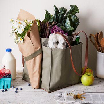 vegan bag Large Tote Bag white print on pink cotton tote by ANKA on Etsy PINK Market bag handprinted Tote bag shopping bag