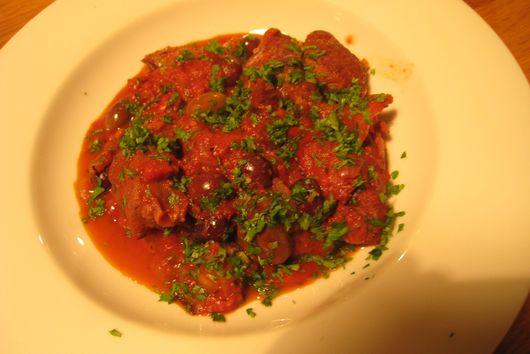 Orangey provençal lamb stew