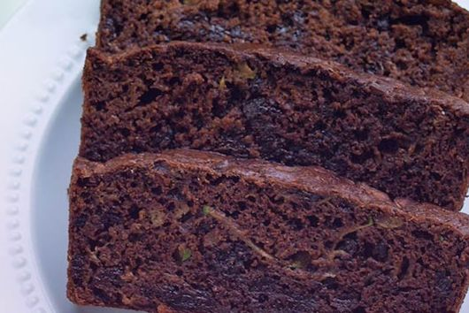 Double Chocolate Banana Zucchini Bread