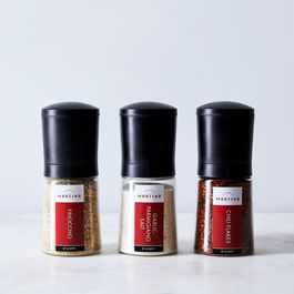 Martina Pizza Spice Grinder Trio