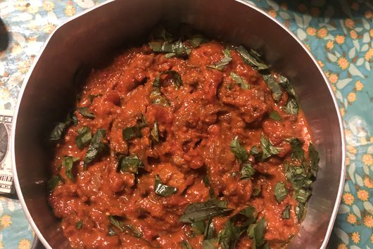 Rich Marinara with Oxtails