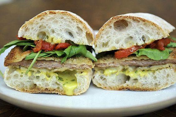 Pork Cutlet Sandwiches