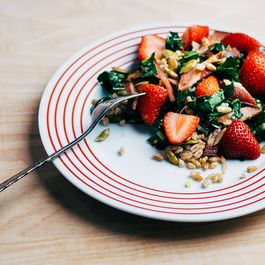 A Better Way to Put Strawberries into Salad (It Involves Bacon)
