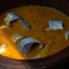 Valla Curry (Mango  Fish Curry )