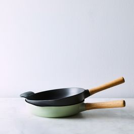 Modern Cast Iron Fry Pan, 10.25""