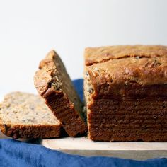 Wild Rice and Carrot Tea Bread