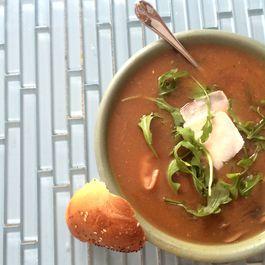 Tortellini and Veggie Soup