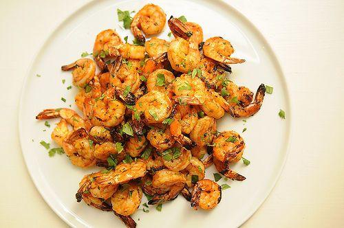 Dinner Tonight: Grilled Shrimp + Zuccaghetti