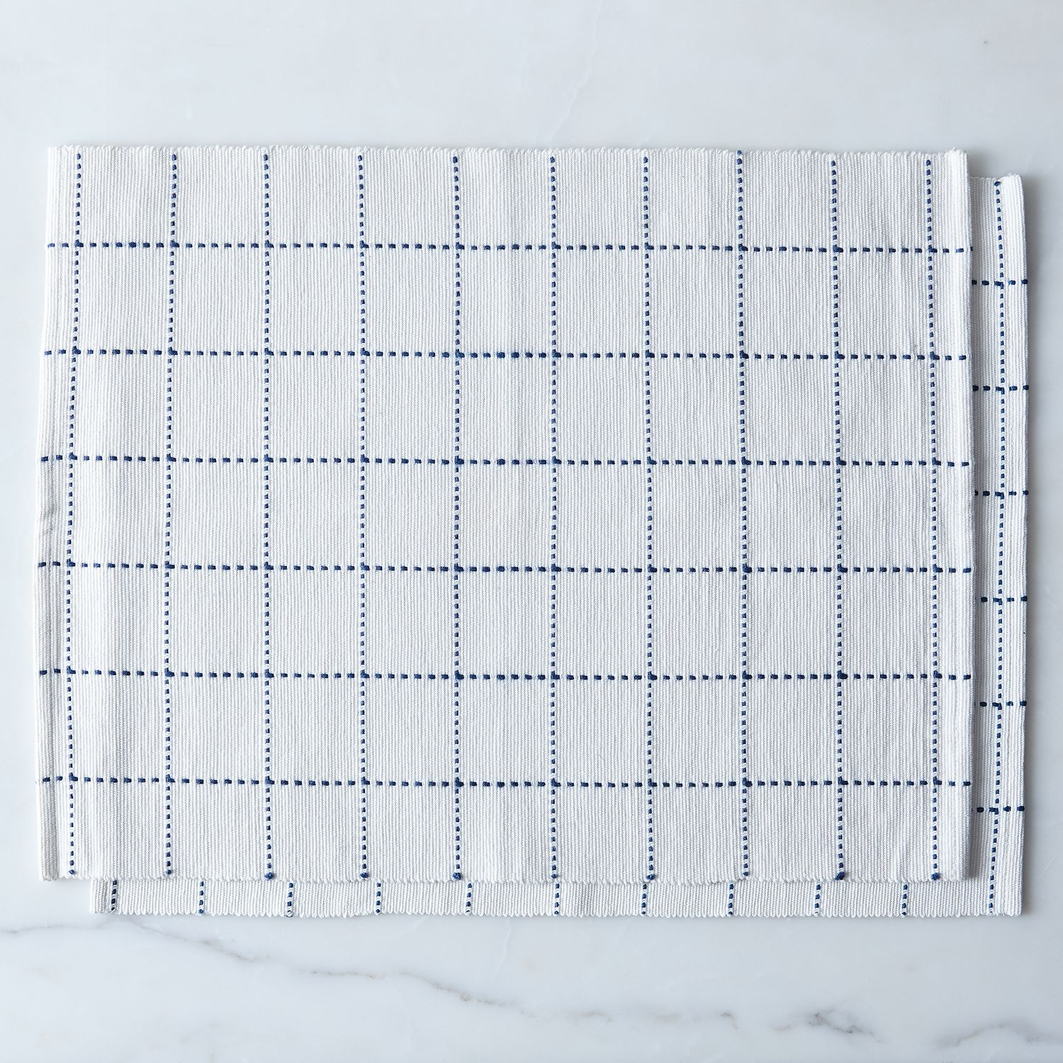 Food52 blue windowpane table linens on food52 for Table 52 2016