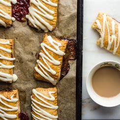 Raspberry Toaster Strudel