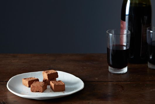 The Best and Easiest Chocolate Truffles to Serve with Red Wine