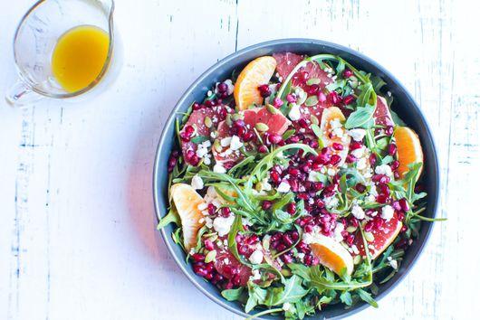 Immune Boosting Arugula and Citrus Salad