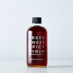 Spicy Maple Syrup
