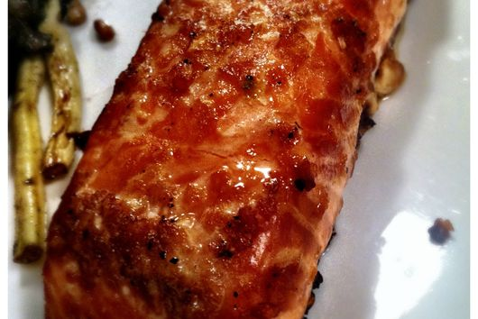 Grandma's Marinaded Salmon