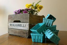 8 Ways to Reuse Cartons, Crates, and Baskets from the Market