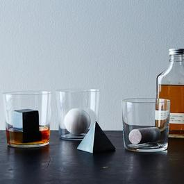 Geometric Whiskey Stones (Set of 4)