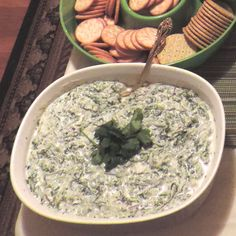Imah's Fabulous Spinach Dip