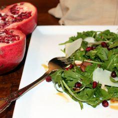 Arugula Salad with Pomegranate and Pecorino