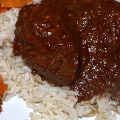 Hungarian braised beef